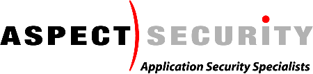 com 301-604-4882 Aspect Security Founder and COO Specialists in application security Verify critical applications (~3 million