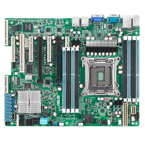 Optimized dual-use server and high-end workstation performance The ATX-sized(EEB mounting hole locations) Z9PA-U8 supports the latest Intel Xeon processor E5-2600 and E5-1600 product family,