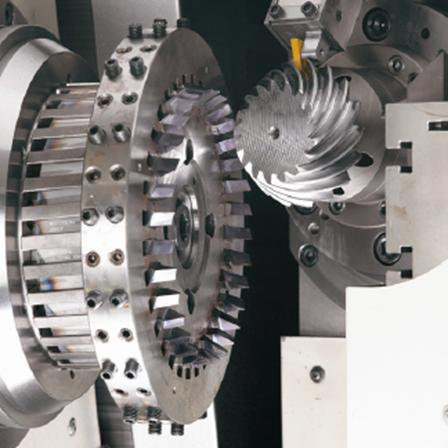Real-World Applications: KegelSpan 3D simulation of bevel gear cutting process 1 Compute key values (i.a. chip thickness) to analyze tool load and tool wear Fortran code (chip thickness computation)
