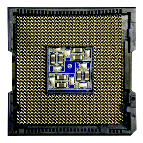 Locate the pin one of the CPU. The CPU cannot be inserted if oriented incorrectly. (Or you may locate the notches on both sides of the CPU and alignment keys on the CPU socket.