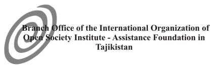 Advantages High-quality European education Internationally recognized Degree Program accredited by FIBAA German teachers of international level Opportunity to study inside Tajikistan Opportunity to