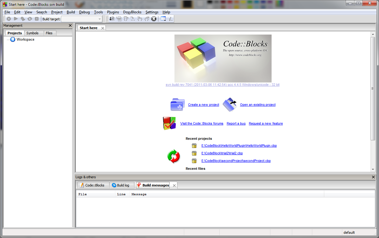 7. When the installation in complete a window is displayed shown in figure 21. If you want to launch the CodeBlock select Launch CodeBlocks-EP and click Finish.
