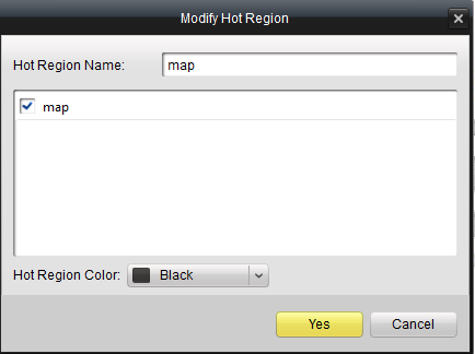 3.7.3 The Hot Region Function The hot region function links a map to another map.