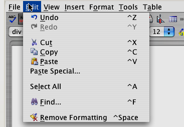 File Menu As you can see from Figure 79, you can open or save a file from the File drop-down menu.