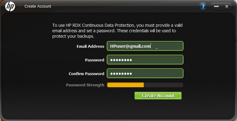 1 Before You Start HP RDX Continuous Data Protection (CDP) Software is for use only with HP RDX Removable Disk Backup Systems and RDX-compatible cartridges.