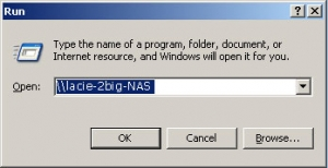 Windows XP, Windows 7, and Vista Users 1. In an explorer window address field, type \\[machine name] or \\[IP address]] and click Go.