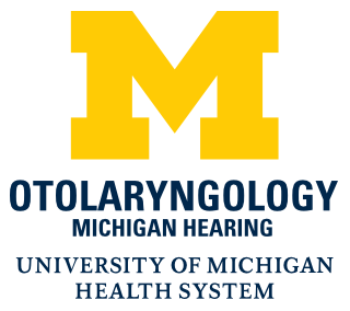 Who is on the UofM Hearing Team?: Otolaryngologist: A medical doctor (M.D.) specializing in diseases of the ear.