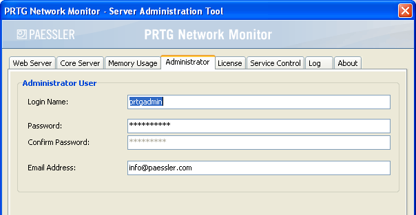 "132 PRTG Network Monitor 7.3 - User Manual Memory Usage Under the ""Memory Usage"" tab you can define PRTG's memory usage for graphs and tables."