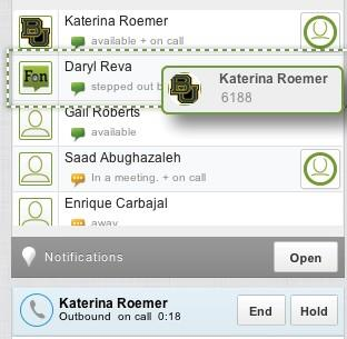 call with Katerina Roemer to Daryl Reva). c.