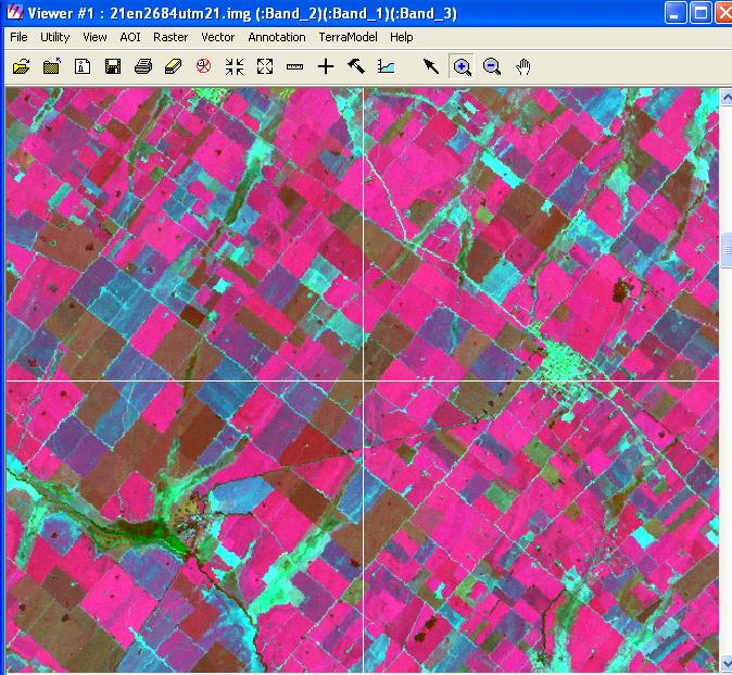 Images captured in different months along the year allows the land use classification.
