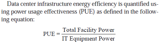 Overview Over last decade DC become significant power consuming facilities Information Technology Equipment (ITE)