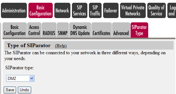 4.2 INGATE WEB GUI CONFIG Configure your Ingate Firewall or Ingate SIParator to get basic network connectivity on all applicable interfaces.