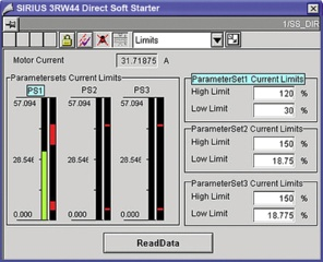 The SIRIUS 3RW44 soft starter PCS 7 block library contains the diagnostics and driver blocks corresponding with the SIMATIC PCS 7 diagnostics and driver concept as well as the elements (symbols and