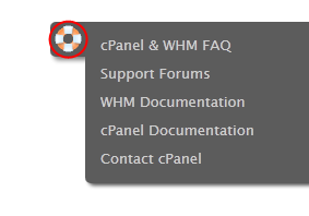 If you can t find the help you require using the supplied documentation, there is a comprehensive support website containing documentation for WHM and cpanel.