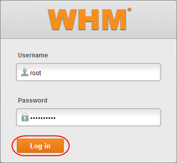 Configuring WHM for the first time The first time you log in to WHM you will be asked to go through the initial setup.