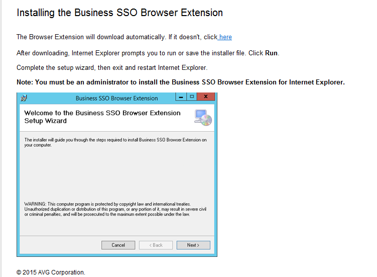 Browser extension installation - Internet Explorer After installing the extension,