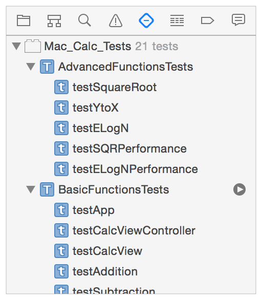 Running Tests and Viewing Results Commands for Running Tests To run all tests in a class,