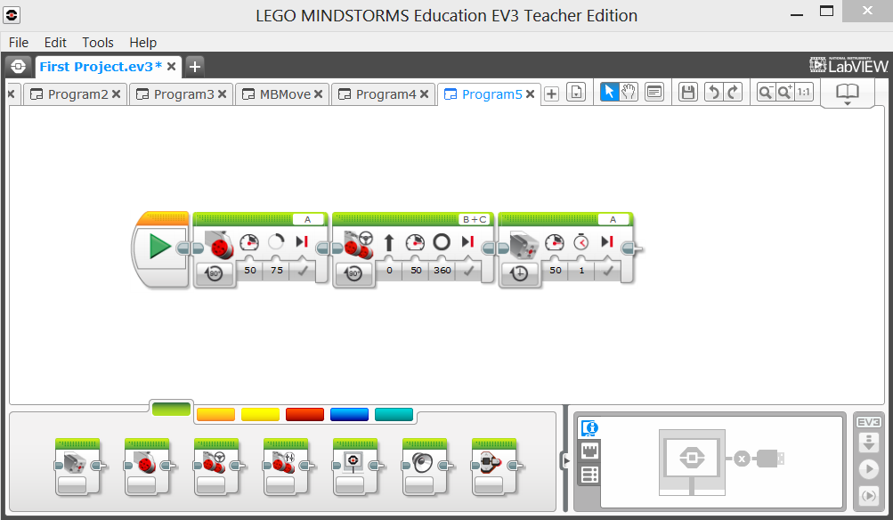 EV3 Programming. Overview for FLL Coaches. A very big high five to ...