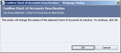 Then click on Deactivate Confirm the deactivation