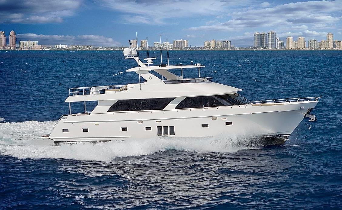 National Transportation Safety Board Marine Accident Brief Fire On Board Motor Yacht Ocean Alexander 85E06 Accident no.