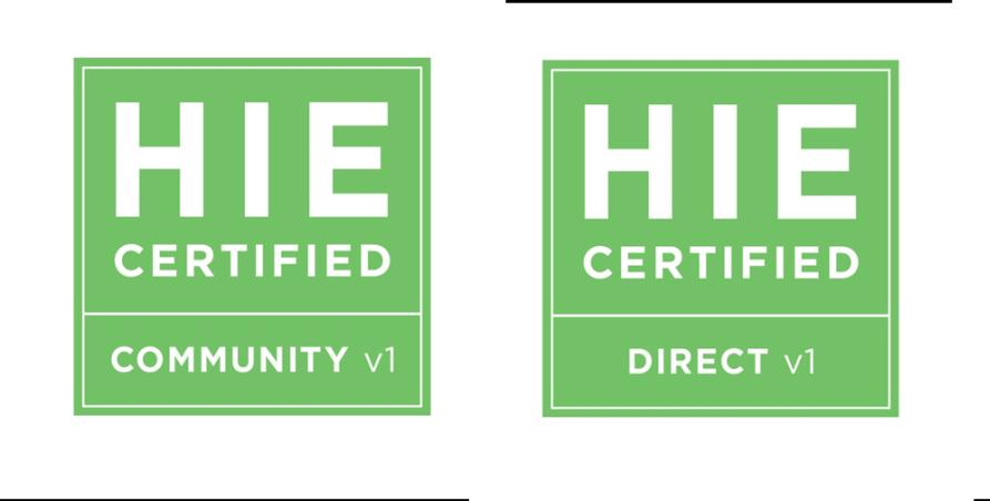 Figure 1. Certification schematic and seal designations HIE Seals.