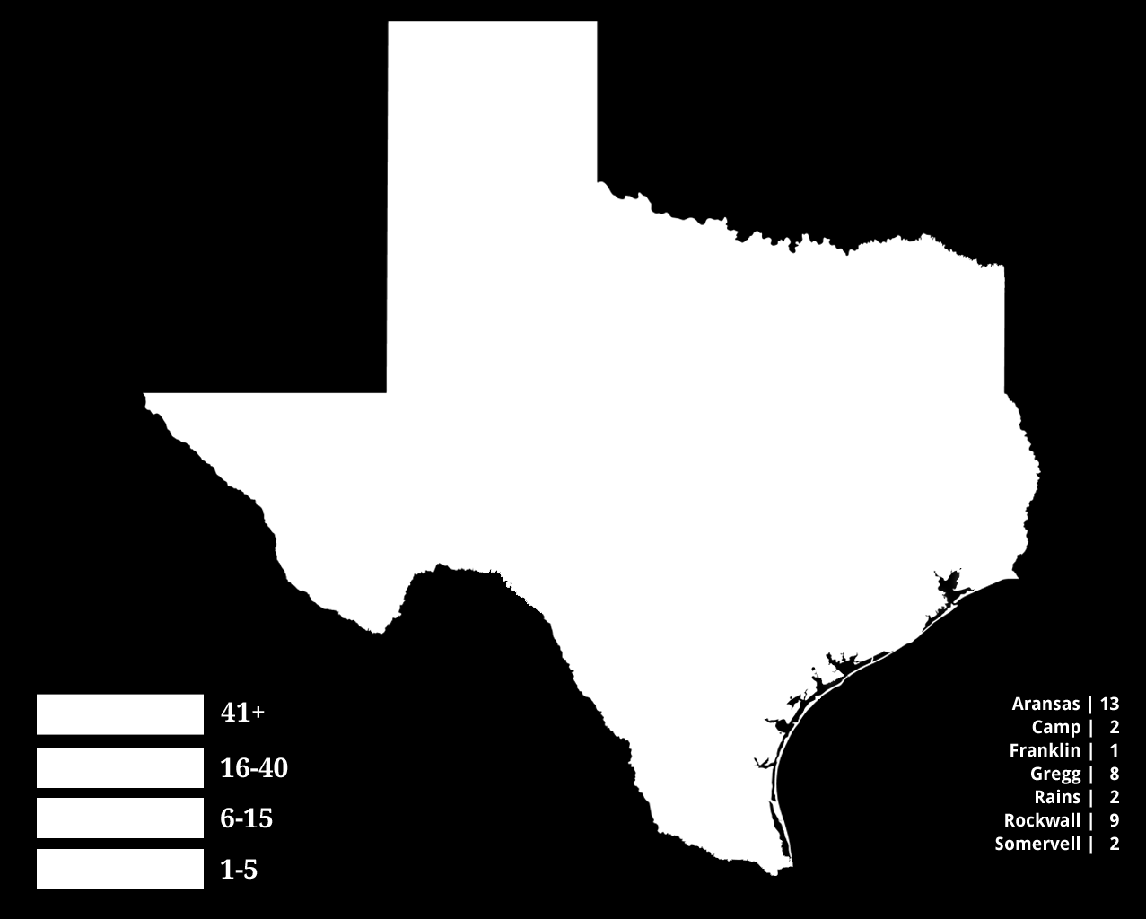 Student Population by County, June 30, 2012 Total WGU Texas Student Population: 2,579 Wherever you are in