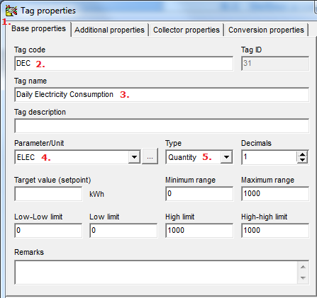 8. Define calculated tags Counter tags are ideal for recording purpose, but of little use for analysis.