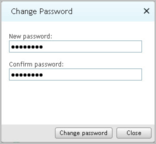 CHANGING YOUR ACCOUNT PASSWORD You can change the password of your account after you log on to Kaspersky Security Center Web-Console.