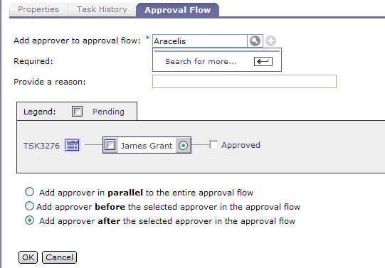 ARIBA Contract Management System- User Guide 40 Contract Approvals cont 8. Add Additional Approvers (skip to step if you are not adding additional approvers) 7.a. Click the Approval Flow tab. message.
