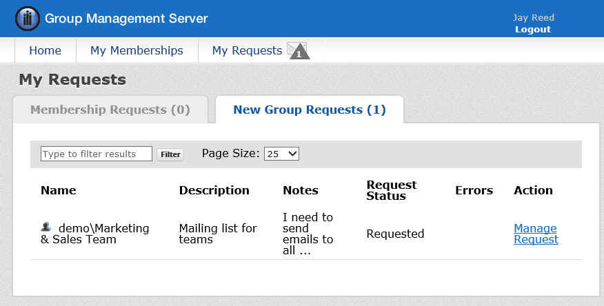 Direct Members Copy From groups or users that should be set as members in Active Directory.
