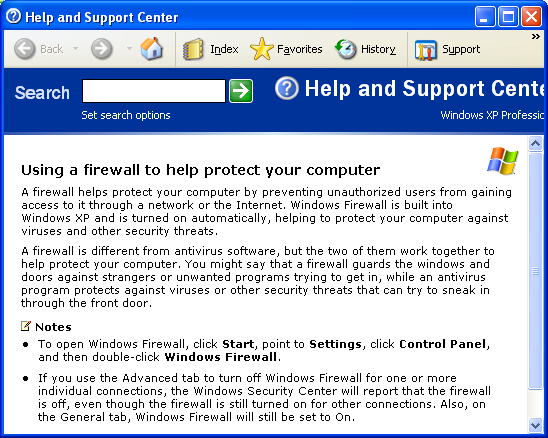 By clicking the link, you will be provided with the following information: Please refer to the How do I disable Windows firewall? section to disable Windows firewall.