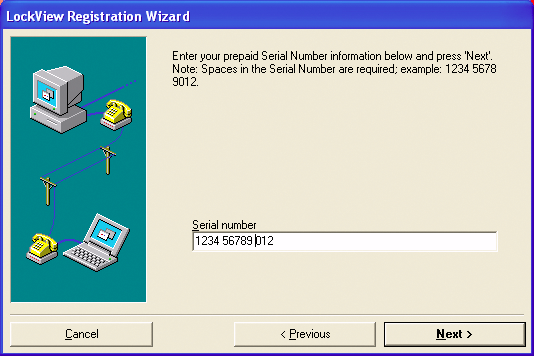 SOFTWARE LICENSING - REGISTRATION WIZARD 1. If connected to the internet or have email on the computer, please click on Electronic Registration.