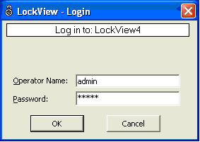 CONFIGURE LOCKVIEW4 FOR MS ACCESS (STANDALONE) cont. 4. LockView will now open.