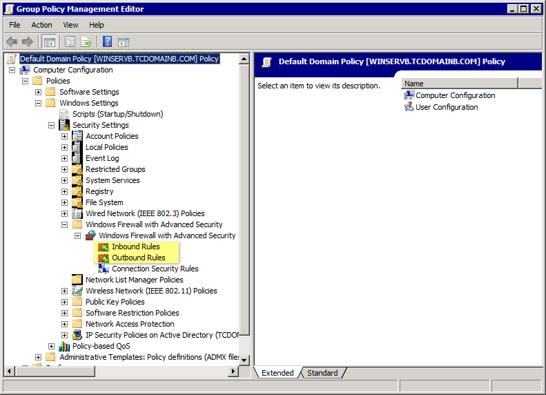 Screenshot 292: Group Policy Management Editor 5.