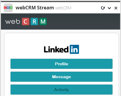 Create an Activity manually You can create an Activity using webcrm stream on HootSuite, to do this