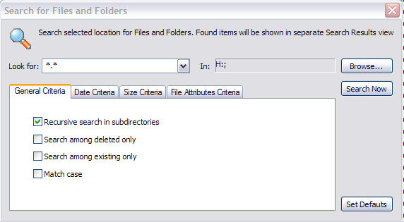 Search for deleted Files and Folders (Optional) 3. In File name, you may use the suggested file name, or you may change it. 4. Click Save.