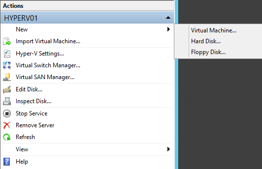 CREATING TWO VIRTUAL MACHINES Now that we have our Hyper-V server up and running, we can deploy two virtual machines on it.
