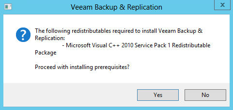 SETTING UP THE BACKUP & REPLICATION SERVER This part of the guide will install Veeam Backup & Replication Server on your BR server. It will cover the basic installation.