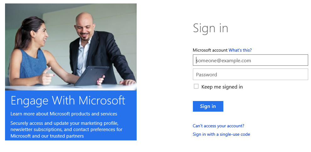 3. Enter your Microsoft account and Password and click Sign in. 4.
