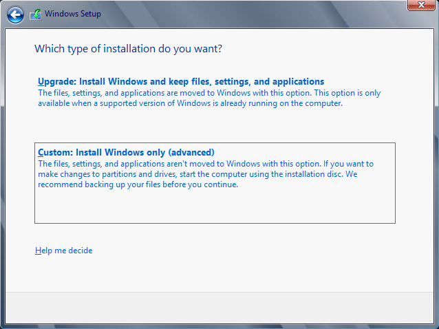 3. Make sure that Windows Server 2012 Datacenter Evaluation (Server with a GUI) is selected and click Next. 4.