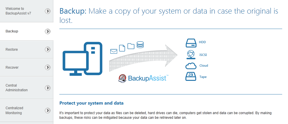 10. Support and Resources Contacting Technical Support Should you have any questions regarding either BackupAssist or Exchange Mailbox Protection, please email support@backupassist.
