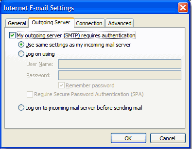 Change the following fields: Account type: POP3 or IMAP POP or IMAP server: mail.summergrove.