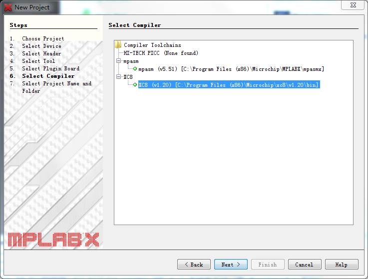 Step 4, Choose PICkit2 as tool, your SN may be different.