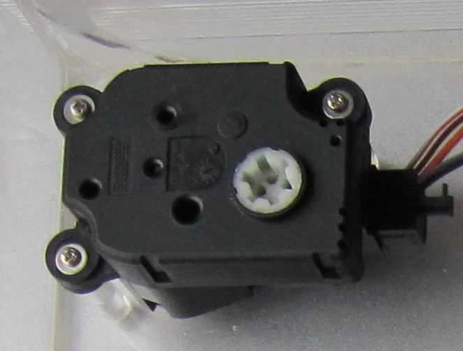 Flat Motor Type The shaft or spindle of a stepper motor rotates in discrete step increments when electrical command pulses are applied to it in the proper sequence.