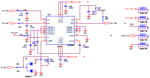 Software Design Figure 6. MC33932 Control Signals 4 Software Design 4.1 Basic Concepts In the HVAC platform, it uses mc33932 H-Bridge Power IC to control flap motor.