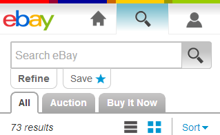your products and services through ebay,