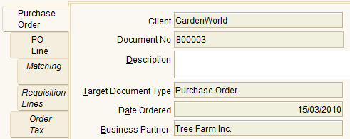 Create Purchase Order (PO) Create PO can be created in 3 ways 1. Manual 2. Semi Manual, use info from Requisition 3.