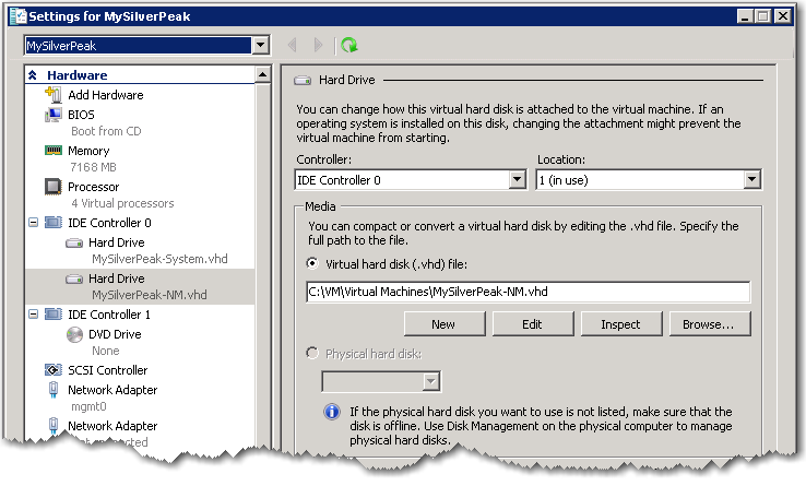 VXOA Virtual Appliance / Microsoft Hyper-V Hypervisor / Out-of-Path Deployment [Router Mode] p.