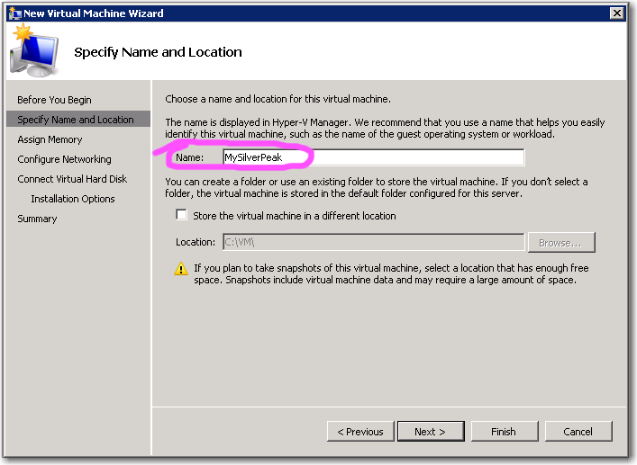 2 Create the virtual machine Before deploying the ISO template, the Hyper-V host must meet system requirements. a.