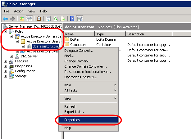 STEP 4 Now select [Start] [Programs] [Administrative Tools] [Server Manager].